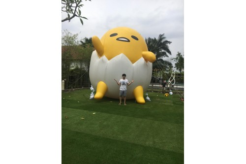 Giant advertising balloon - Gudetama